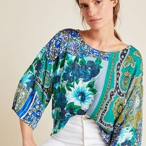Anthropologie  NWT THIS TOP RUNS A SIZE SMALL !!!!